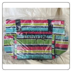 Thirty One New Day Tote Preppy Pop NEW
